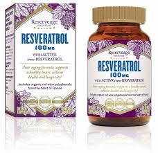 Reserveage Nutrition Resveratrol, 100 mg - 60 Veggie Caps - Kroger