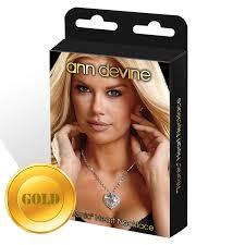"""Купить <b>Цепочка с сердцем</b> """"TITANIC"""" HEART NECKLACE золотая ..."""