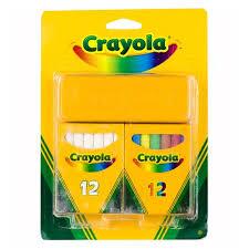 Набор <b>белых</b> и цветных <b>мелков</b>, 24 шт. – купить по цене 232 руб ...