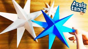 Объемная <b>ЗВЕЗДА</b> из бумаги / Поделки оригами - YouTube