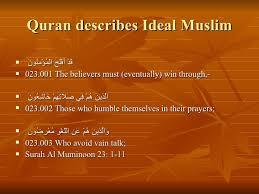 characteristics of islamic workers