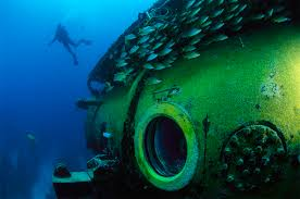 underwater exploration national geographic record breaking underwater mission