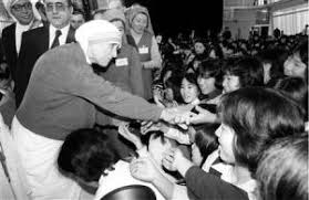 「1981, mother teresa to japan」の画像検索結果