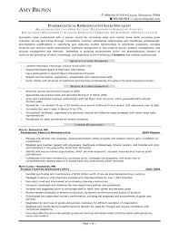 Pharmaceutical Sales Representative resumes   SinglePageResume com