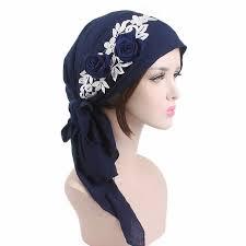 New <b>Women's Hijabs Women Fashion Muslim</b> Turban Hats Indian ...