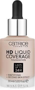 Catrice <b>HD</b> Liquid Coverage Foundation - Жидкая <b>тональная</b> ...