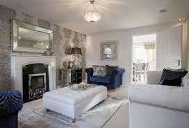 pleasing show home living room