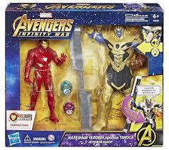 <b>Фигурки</b> - <b>Avengers Movie</b>. Набор Танос и Железный Человек