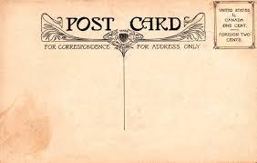 vintage postcard back jpg times printables vintage postcard back 2 jpg 1600times1018