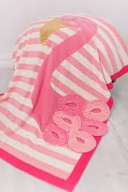Одеяло <b>Bizzi Growin</b> Flamingo 70*90 с аппликацией BG025