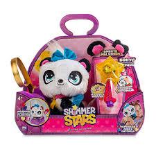 Игрушка <b>Shimmer Stars панда плюшевая</b> с сумочкой, 20см, 1/4 1 ...
