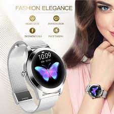 KW10 Smart Watch <b>IP68 Waterproof Women Lovely Bracelet</b> Heart ...
