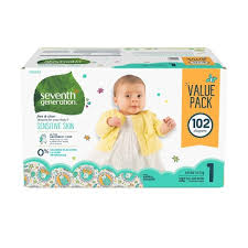 Seventh Generation <b>Free & Clear Diapers</b> Value Pack - (Select Size ...