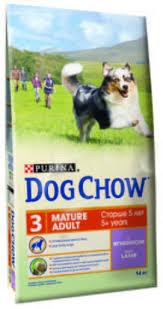 <b>Dog Chow Mature</b> With Lamb