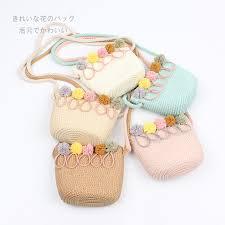 <b>Baby</b> Girls Bohemian Straw Woven Bag Fashion New Rattan Wicker ...