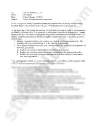 spring cob business memo assignment prompt docx business to cob 202 section 1 2 3 4 from eric henkel date friday 19 2010 subject prompt for business memo assignment i would like you to identify a