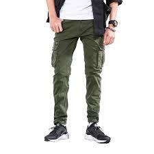 2019 <b>Spring</b> Cargo Pants <b>Men Japan Style</b> Trousers Zipper Fly High ...