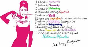 I Believe In Manicures Audrey Hepburn Quotes. QuotesGram