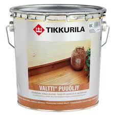 <b>Масло VALTTI PUUOLJY EC</b>, цена | Tikkurila купить в СПб