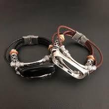 leather wrist strap for <b>xiaomi mi</b> band 3 <b>accessories</b> bracelet miband ...