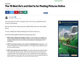 Dating Advice Archives   Online Profile Pros
