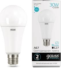 "<b>Лампочка Gauss</b> Лампа светодиодная Gauss ""<b>LED</b> Elementary ..."