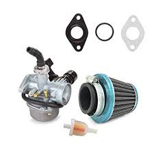 ATV <b>Carburetor</b> PZ19 with Fuel Filter and <b>35mm</b> Air Filter for <b>50cc</b> ...