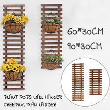 <b>Plant</b> Flower Hanging Wall Holder Wood Frame <b>Climbing Rack</b> ...