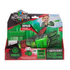 <b>Перчатка</b>-<b>бластер Glove Blaster</b> Пришелец, цвет зеленый ...