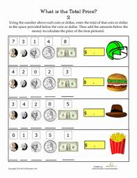 Adding Money Amounts | Worksheet | Education.comSecond Grade Money Worksheets: Adding Money Amounts