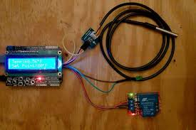 Arduino Programmable Heater Blower Thermostat With <b>DS18B20</b> ...