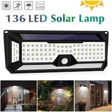 <b>136 LEDs</b> 1810LM Garden <b>Solar</b> Light <b>Solar</b> IP67 Waterproof <b>LED</b> ...