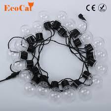 <b>20 LED 6M</b> Clear Globe Festoon Party Fairy String Lights <b>Christmas</b> ...