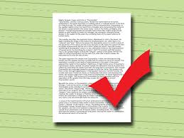 how to write a college level essay steps pictures