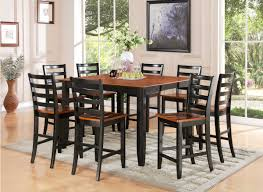 Bars For Dining Room Top East West Furniture Fairwinds 7 Piece Inch 54 Square Pub Table