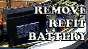 How To Remove + Refit A <b>Motorcycle</b> Battery | Kawasaki <b>ER6f</b> | <b>ER6n</b>