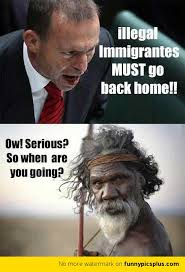 Illegal Immigrants Must Go Back Home | Funny Pictures via Relatably.com