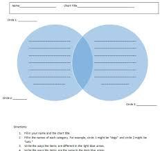 venn diagram templates  free download for word
