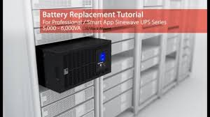 <b>CyberPower Battery</b> Replacement Tutorial for <b>Professional</b>/Smart ...