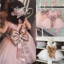 2019 Girl <b>Lace</b> Paillette <b>Camisole</b> Dress Kids Baby <b>Princess</b> Party ...