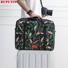 <b>RUPUTIN New</b> Women'S Foldable <b>Travel</b> Bags Weekend Portable ...