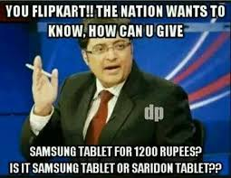 Lol! Flipkart Big Billion Day Funny Memes Trolls Comments and ... via Relatably.com