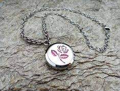 High Quality Stainless Steel <b>30mm Aromatherapy</b> Locket <b>Necklace</b> ...