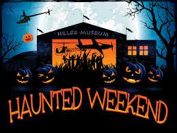 <b>Halloween Haunted</b> Weekend - Hiller Aviation Museum