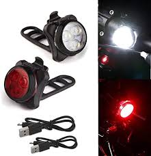 huichang LED Bicycle Light Set, <b>USB Rechargeable Bicycle</b> Light ...