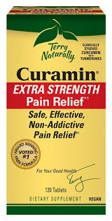 Terry Naturally <b>Curamin</b>® <b>Extra Strength</b> -- 120 Tablets - Vitacost