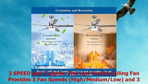 Tropicalfan <b>Modern LED</b> Ceiling Fan with One Acrylic Light Cover ...