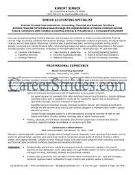 cover letter senior accountant resume sample senior staff cover letter accounting resume accounting resumesenior accountant resume sample large size