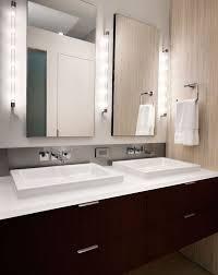 bathroom amazing bathroom vanity lighting with clean and minimal vanity design lit up in a stunning amazing lighting ideas bathroom lighting