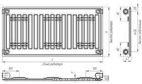 <b>Радиатор отопления Лидея ЛК</b> 10-514 белый купить за 3091 руб ...